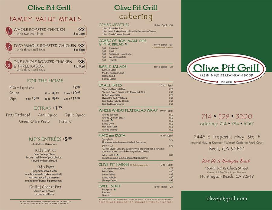Olive Pit Menu Oc Restaurant Guides