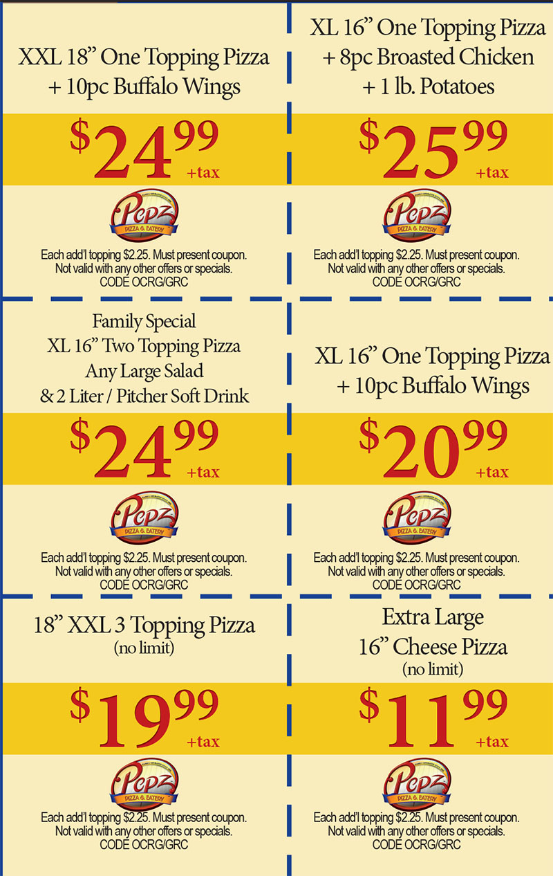 Lamppost pizza coupons printable