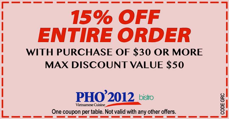 Anaheim restaurant coupons