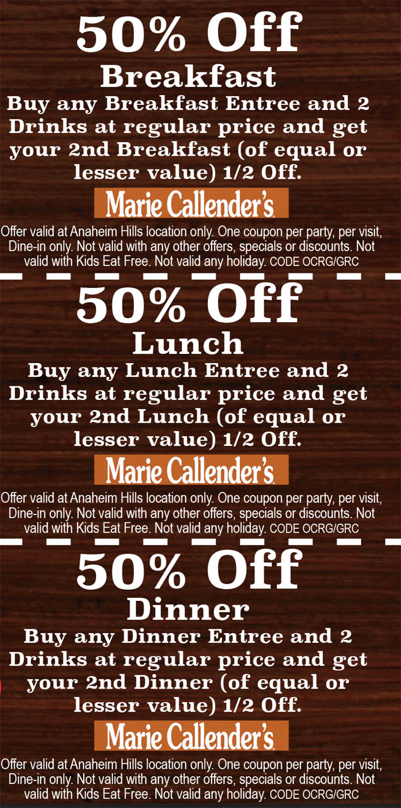 Marie Callender S Anaheim Hills Oc Restaurant Guides