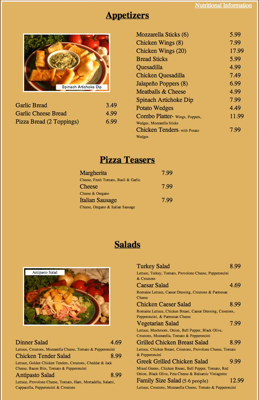 Restaurant menu, map for Lamppost Pizza located in , Lake Forest CA, El Eoro maump3.mle: American, Pizza.