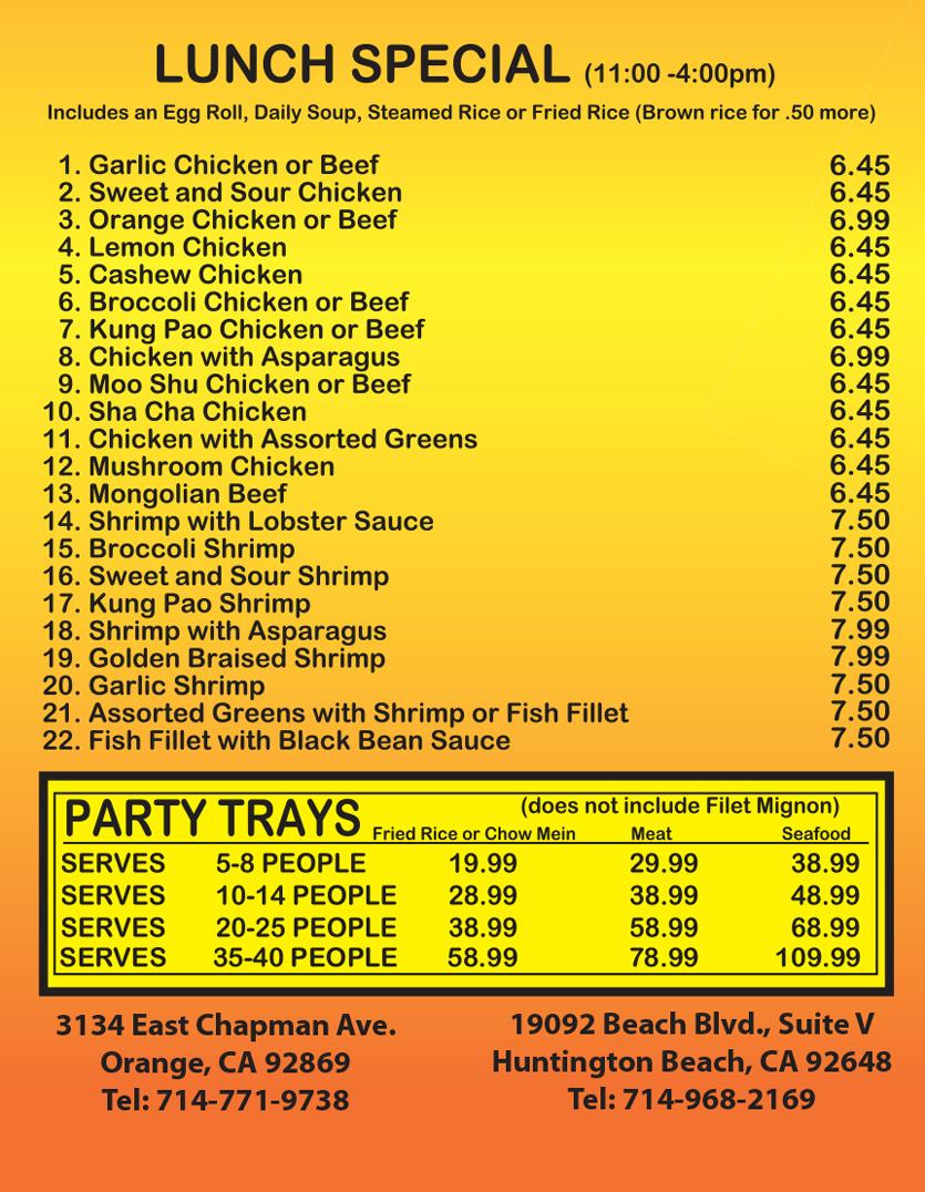 Orange county restaurant coupons