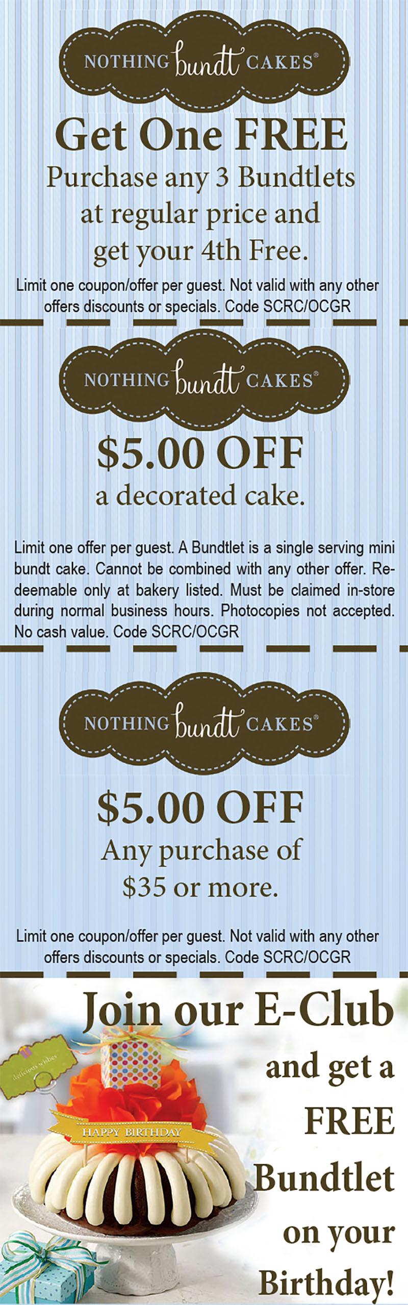 Nothing Bundt Cakes Irvine Tustin