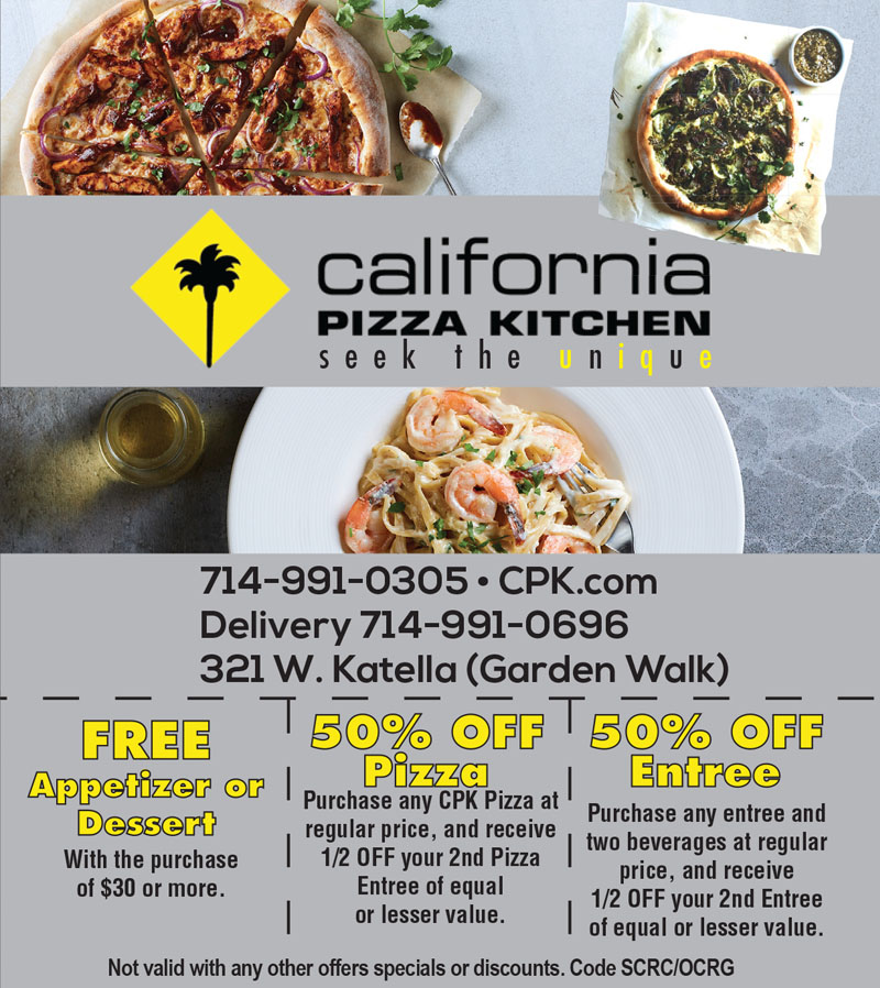 California Pizza Kitchen In Downey