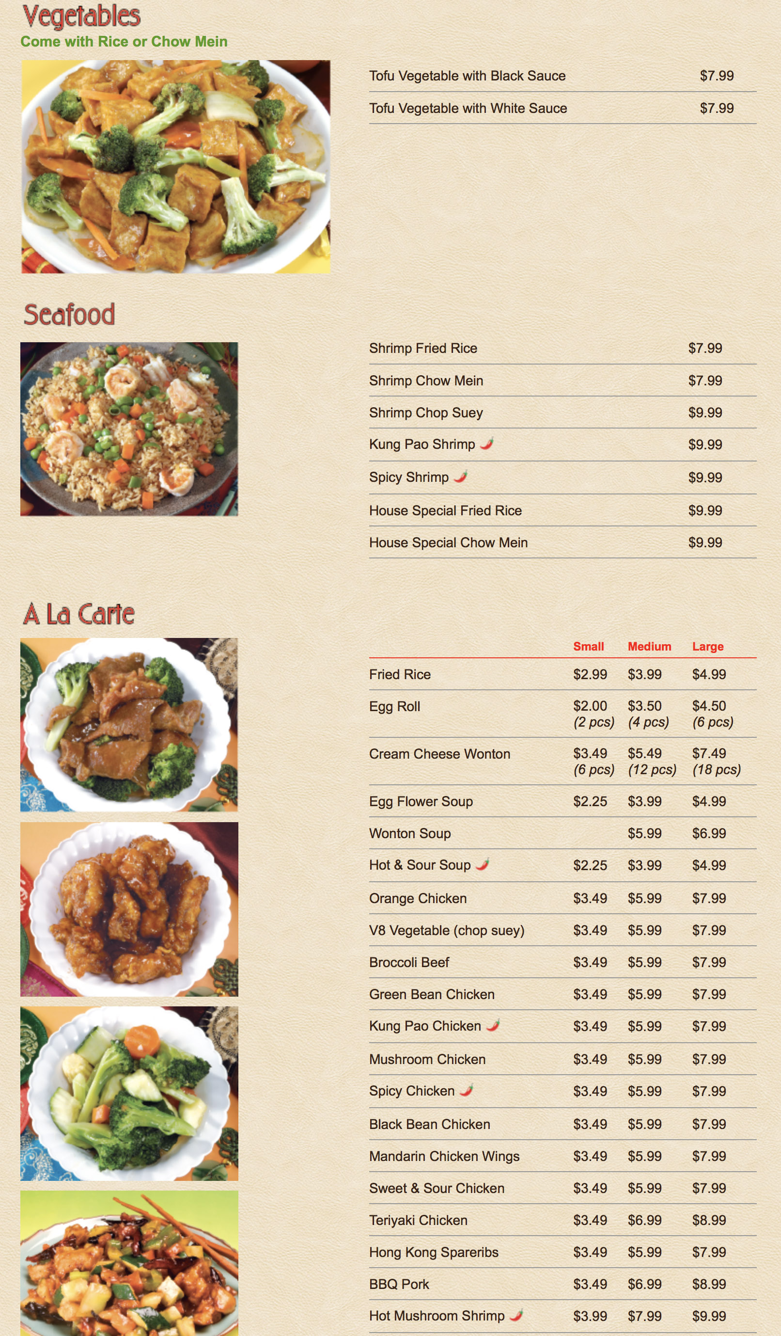 chins kitchen menu - Chins Kitchen 2
