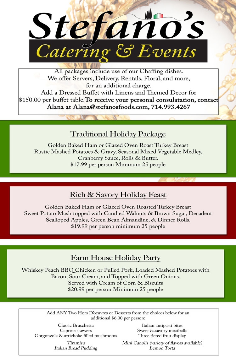 HolidayCatering