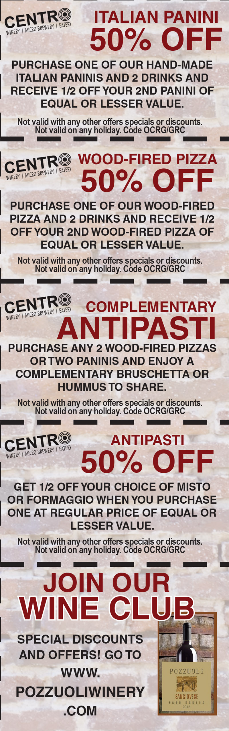 CentroCoupons