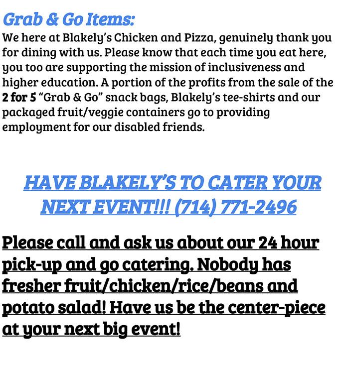 BlakelysCatering