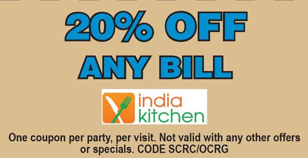 India Kitchen Oc Restaurant Guides