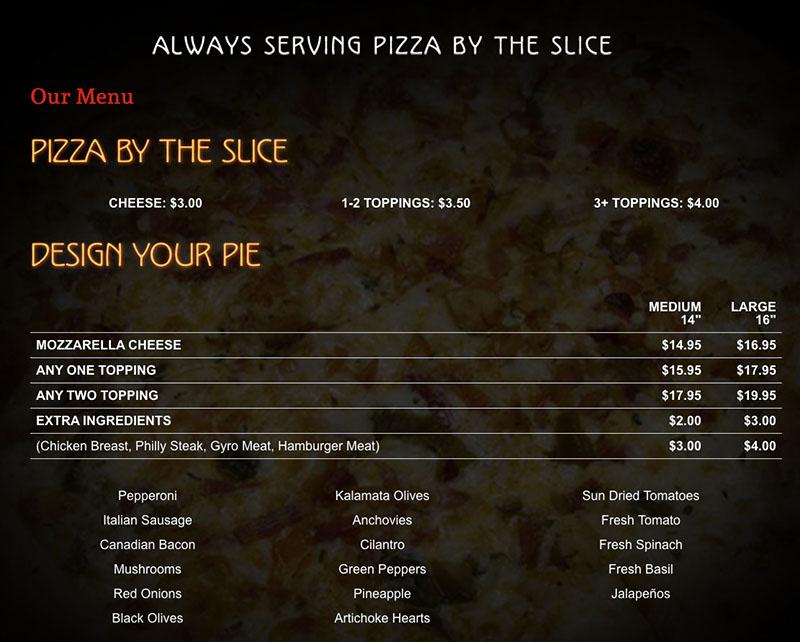 EurekaPizzaMenu1