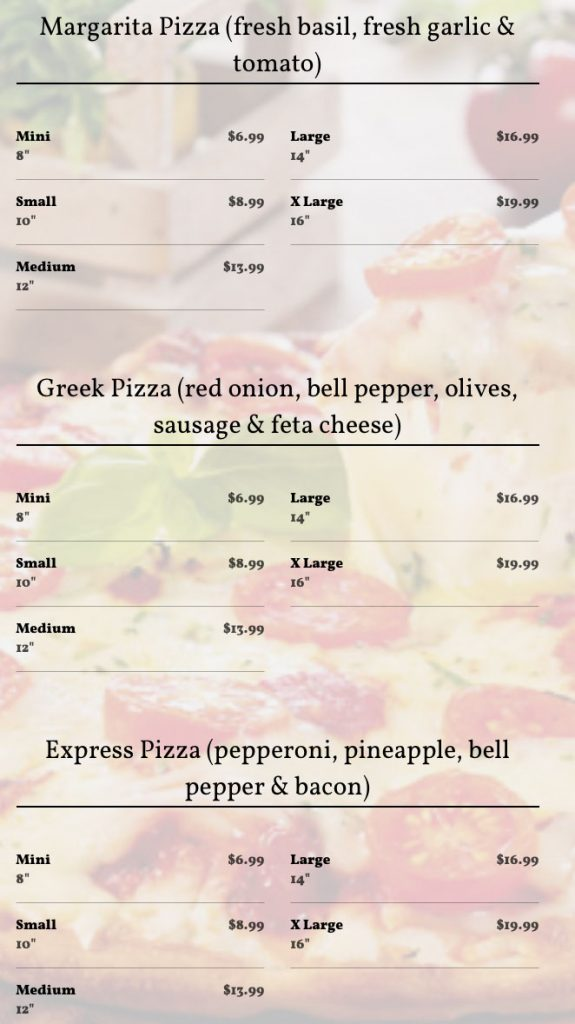 PizzaExpressMenu11