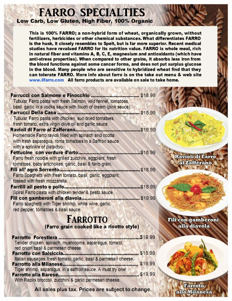 menu_il_farro_specialties